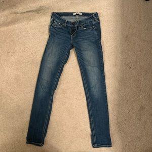 Hollister mid-rise super-skinny jeans